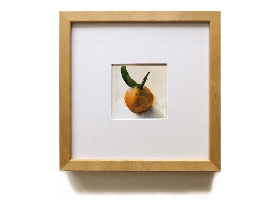 strawberries with frame